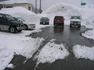 新潟県湯沢町のスキー場