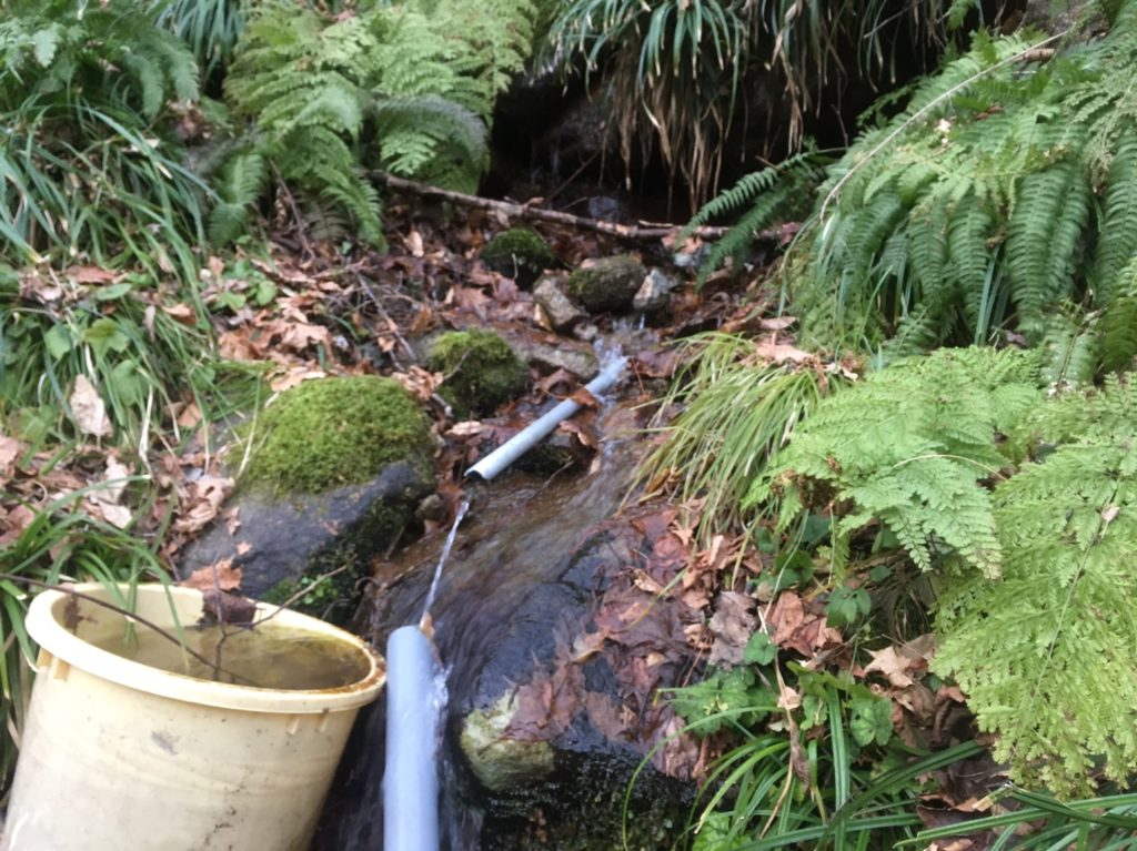 湯沢町の天然水