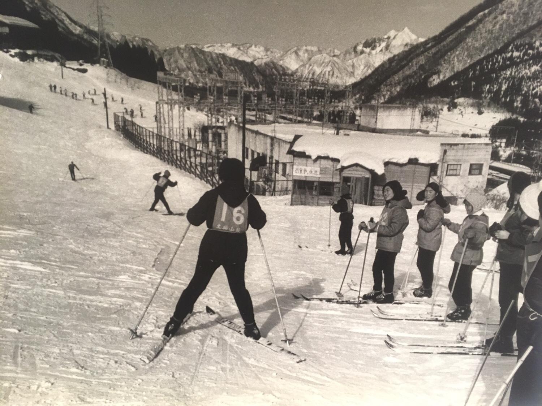 昭和の土樽スキー場