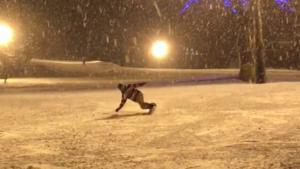 kuri-chan snowboarding(kandatsu)