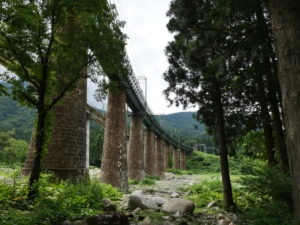 P1000212 300x225 - 上越線の「毛渡沢橋梁」